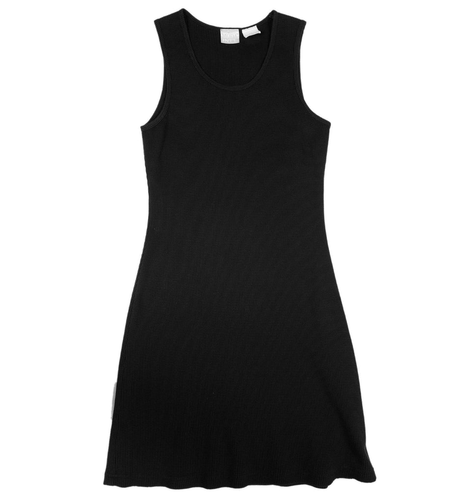 Vintage Black Tank Top Dress