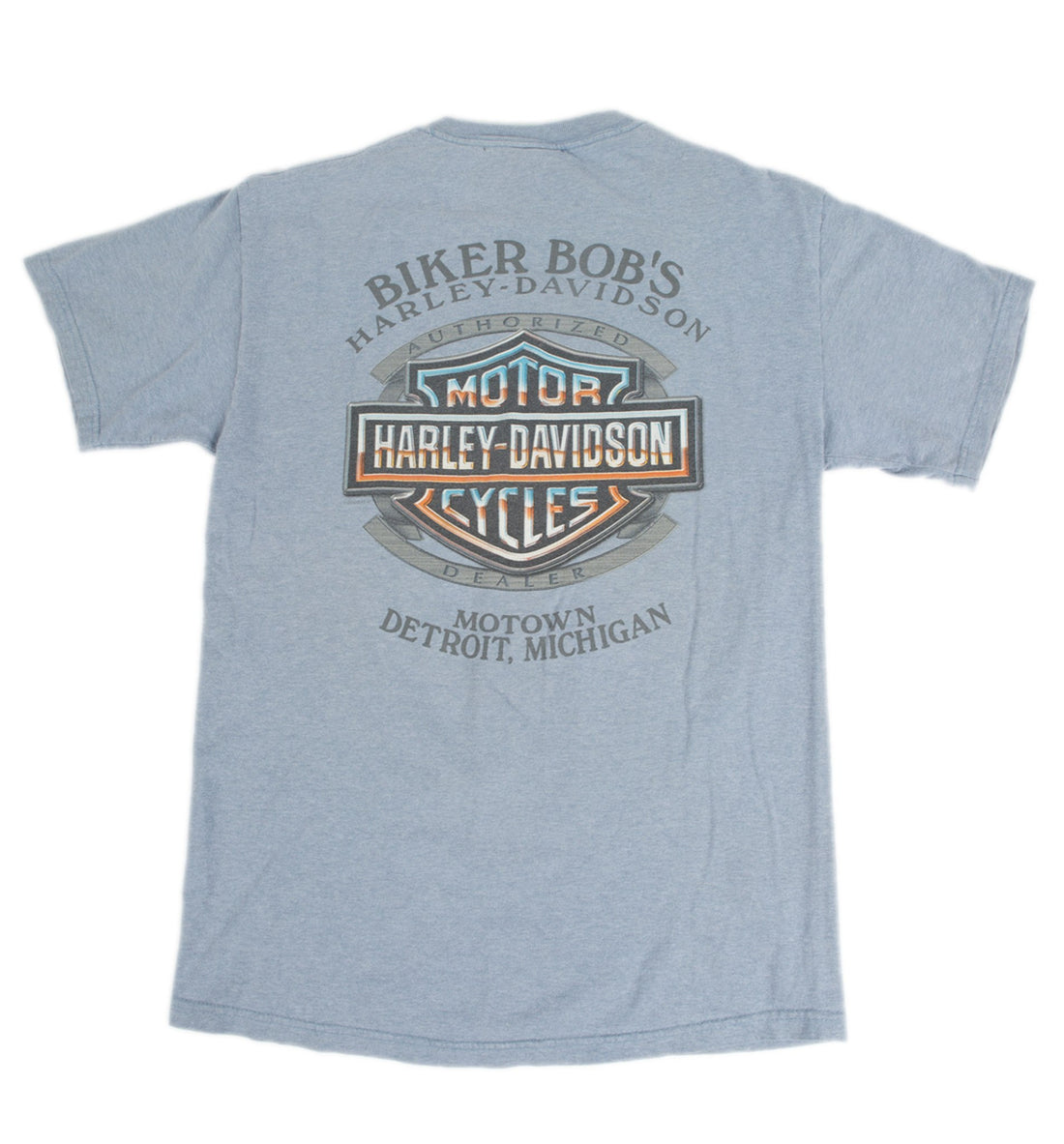Vintage Gray Harley Davidson Tee - Vintage - Iron and Resin