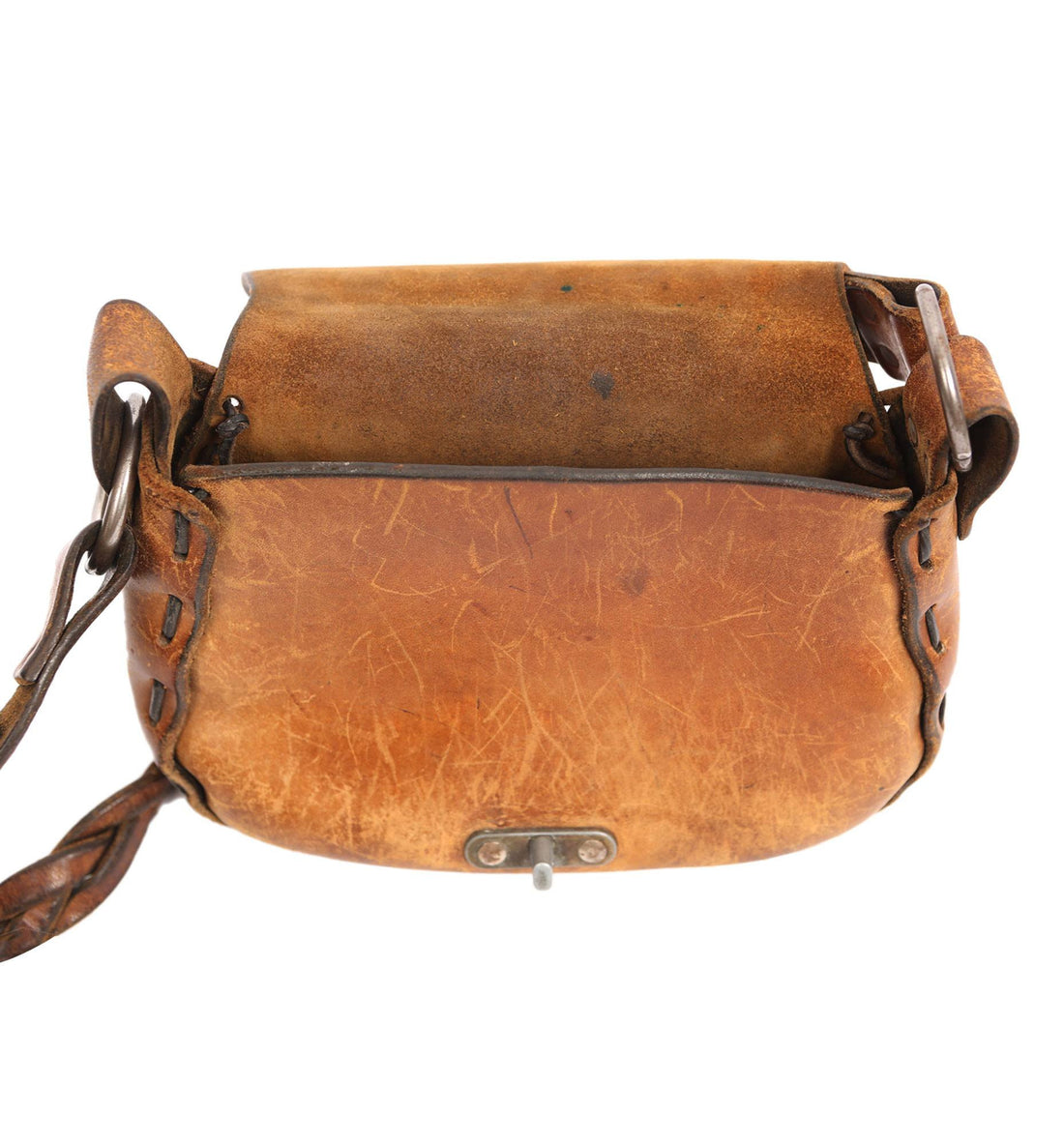 Vintage Leather Tooled Bag - Vintage: Women's - Iron and Resin