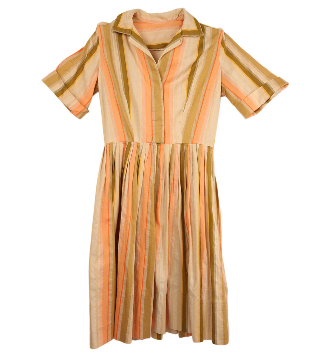Vintage 60s Pastel Dress - Vintage: Women's: Apparel - Iron and Resin