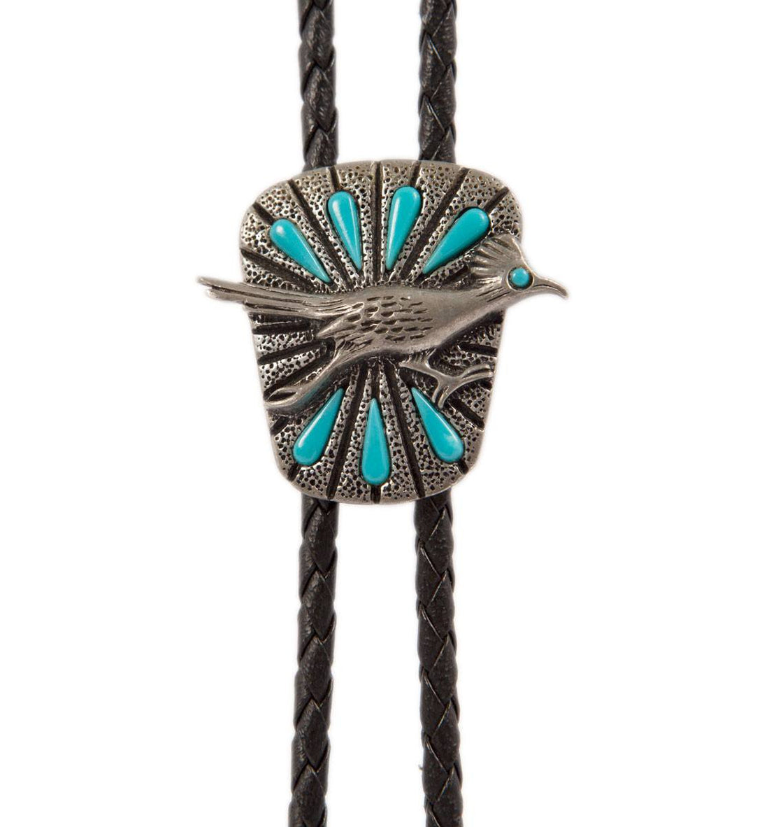 Vintage Road Runner Bolo Tie - Vintage - Iron and Resin