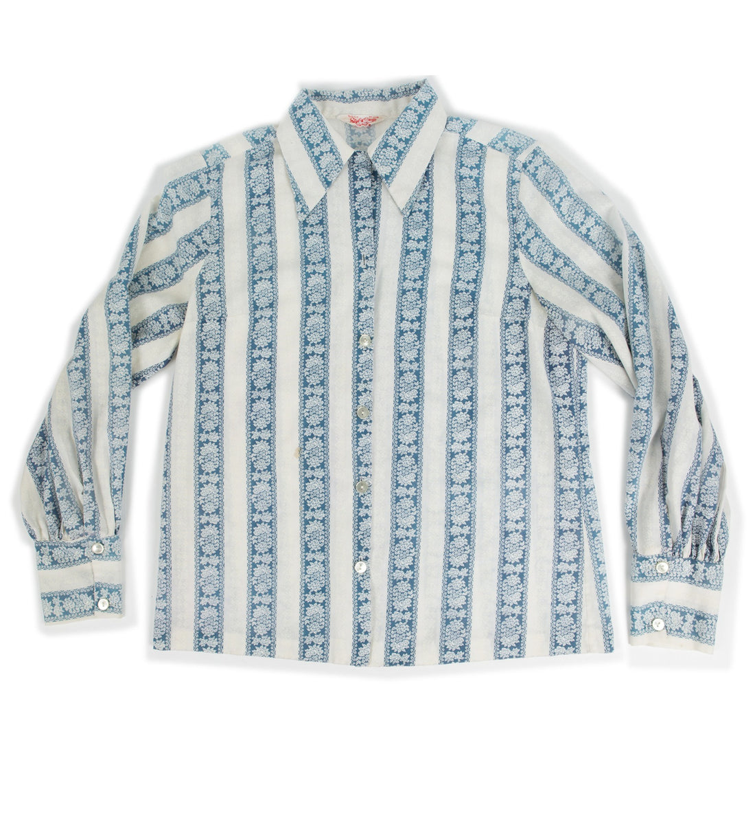 Vintage 70's Style Craft Button Up Shirt