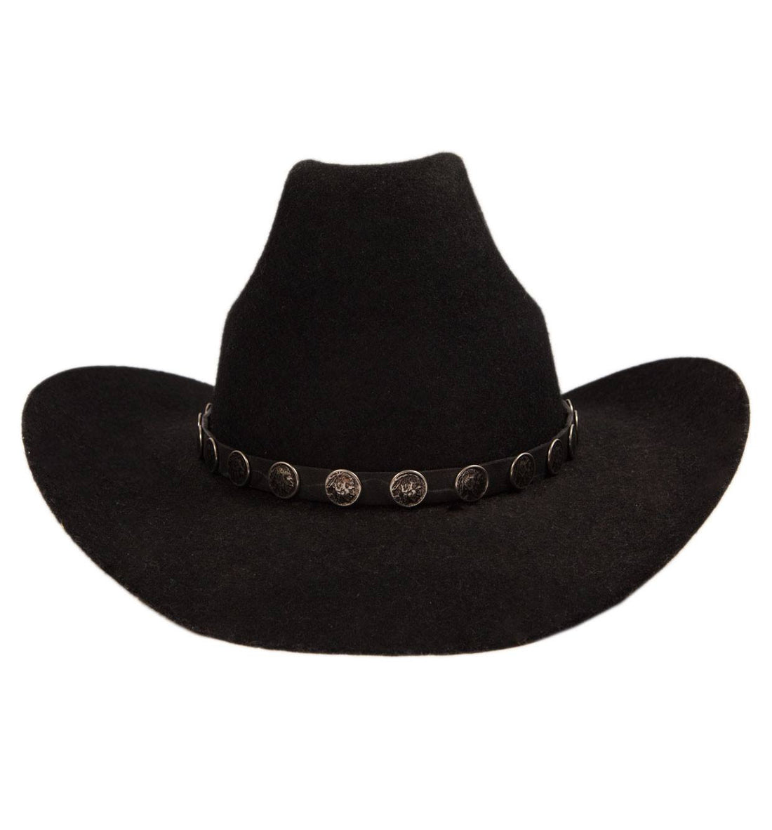 Vintage Superlan Black Hat - Vintage - Iron and Resin