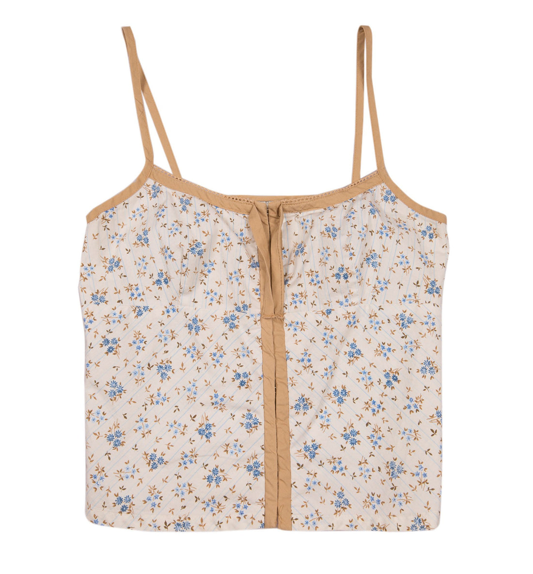 Vintage Floral Tank Top - Vintage: Women's: Apparel - Iron and Resin