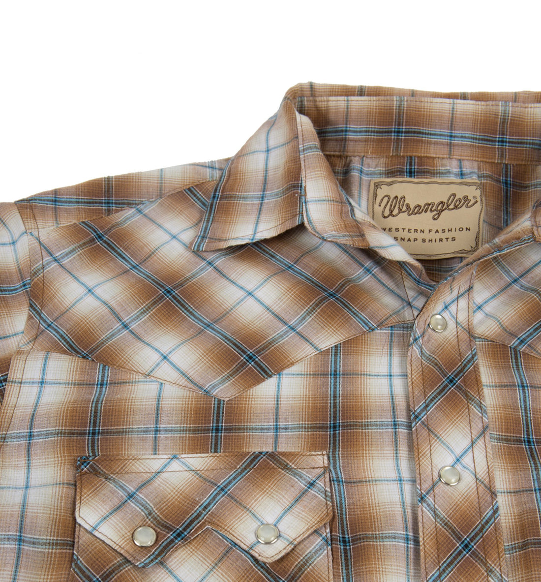 Vintage Wrangler Button up Pearl Snap - Vintage: Men's - Iron and Resin