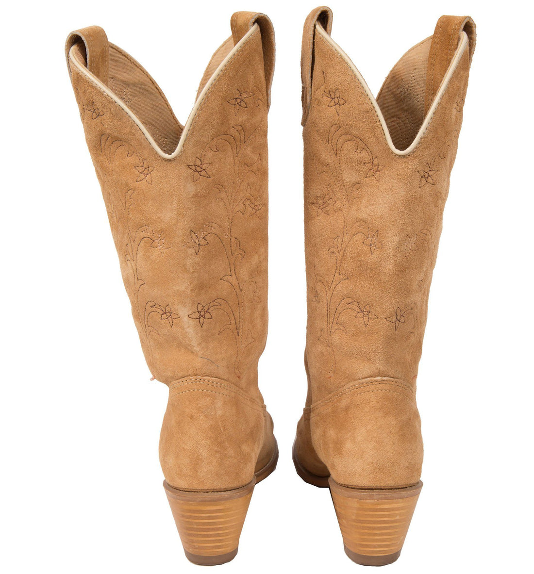 Womens 70's Wolverine Tan Boots - Vintage - Iron and Resin