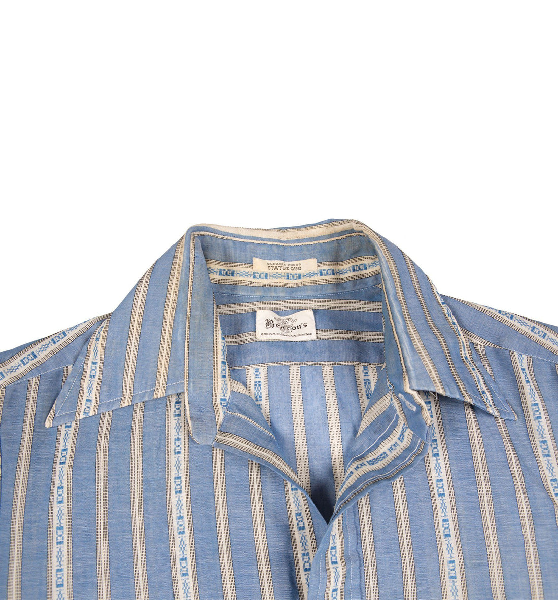60's Beacon's Short Sleeve Button up Shirt - Vintage - Iron and Resin