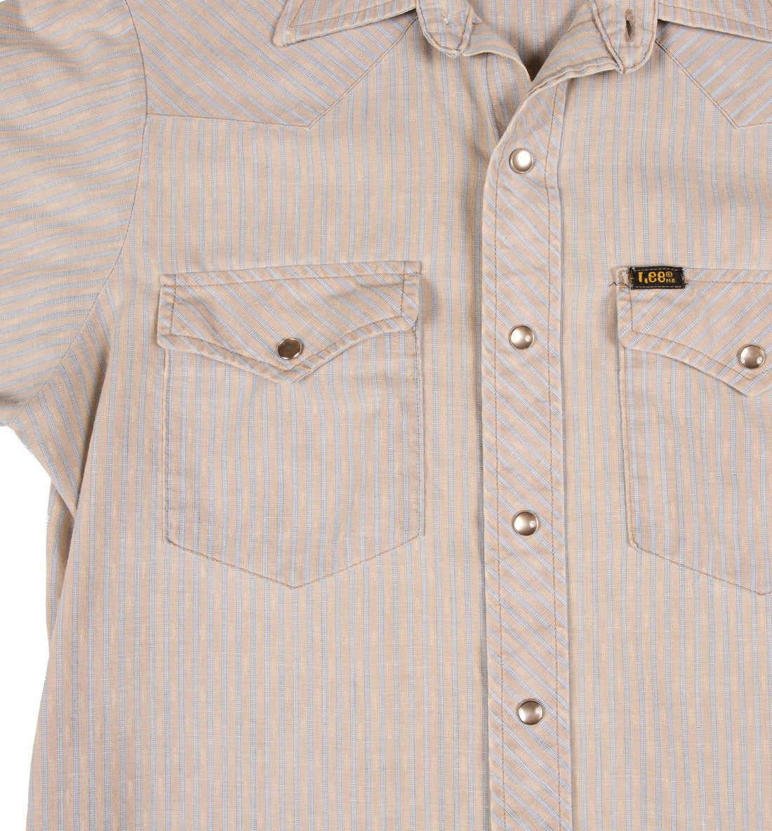 60's Lee Stripe Button up Shirt - Vintage - Iron and Resin