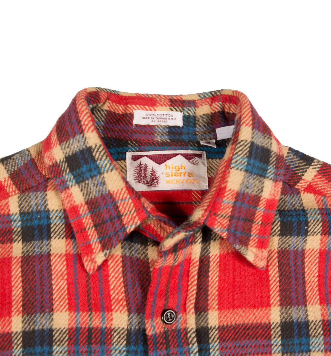 70's High Sierra Mervins Flannel - Vintage - Iron and Resin