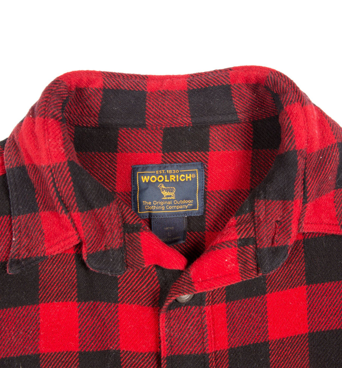 70's Woolrich Plaid Flannel - Vintage - Iron and Resin