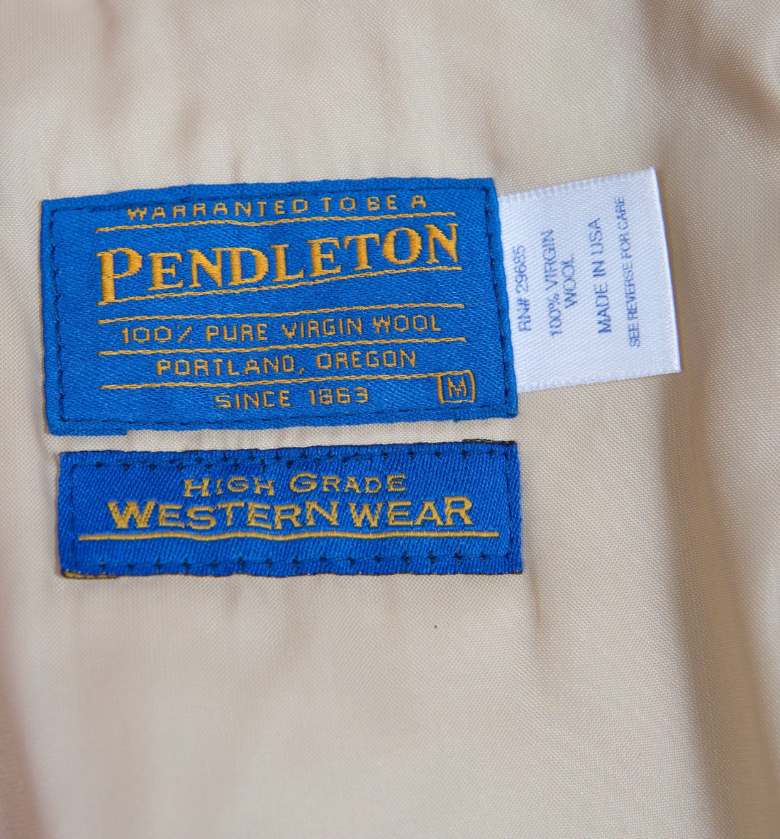 Vintage 60's Western Wear Pendleton Jacket - Vintage - Iron and Resin