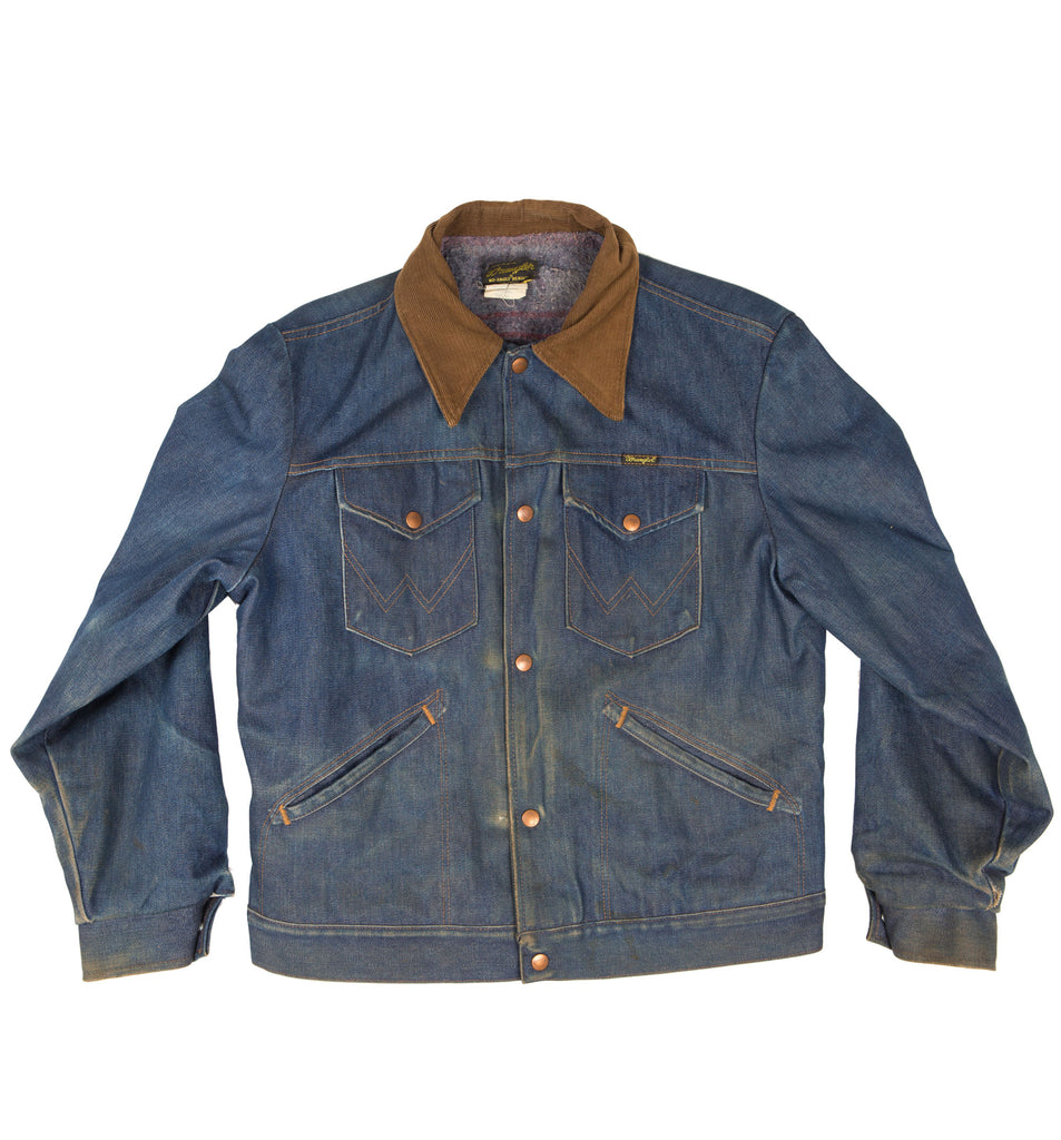 Vintage 60's Wrangler Jean Jacket - Vintage - Iron and Resin