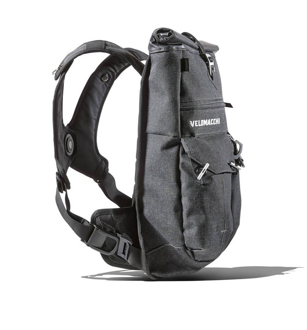 Velomacchi Speedway Backpack - Black - 28L - Bags/Luggage - Iron and Resin