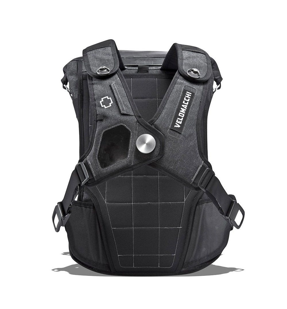 Velomacchi Speedway Backpack - Black - 40L - Bags/Luggage - Iron and Resin