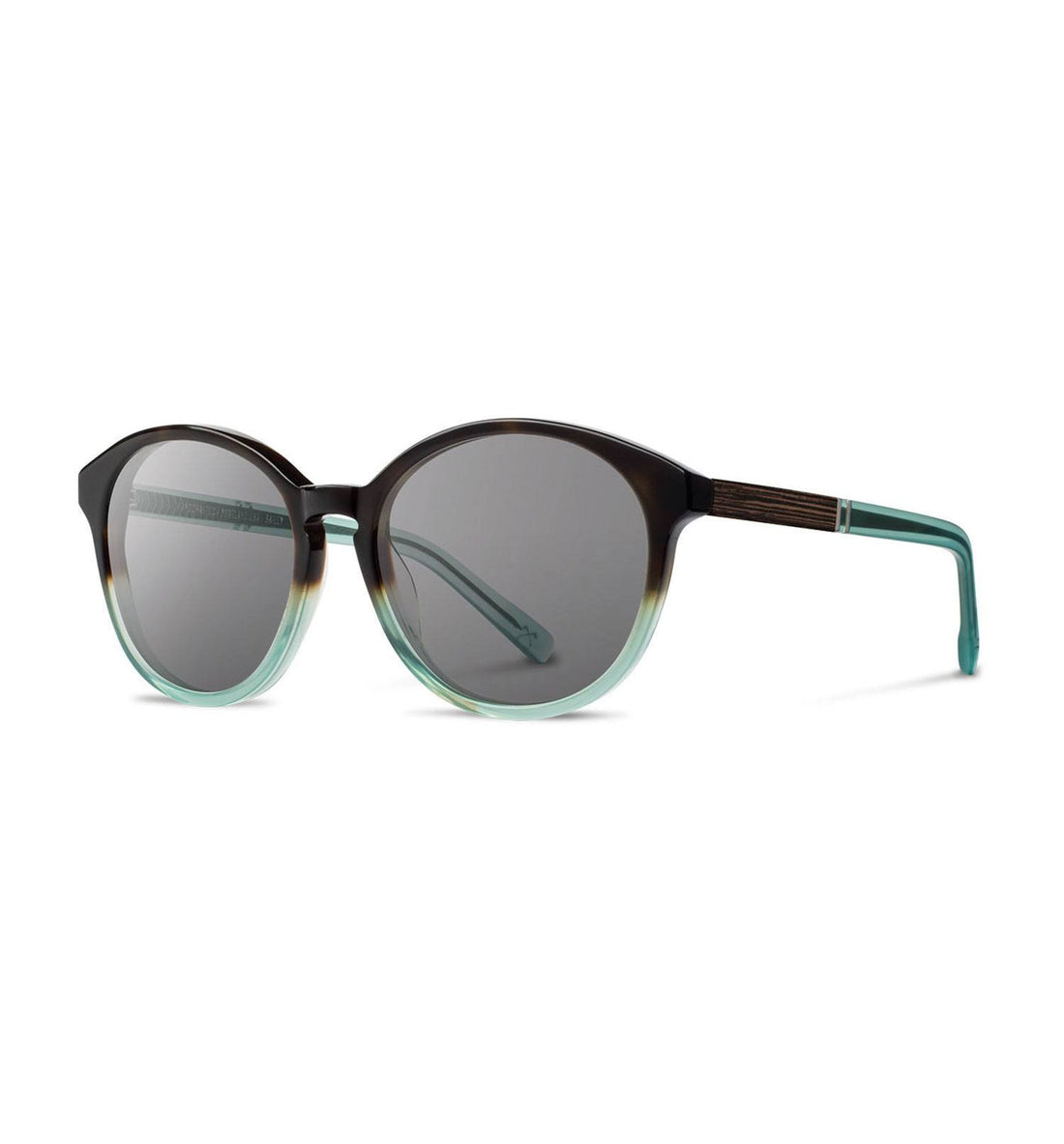 Shwood Bailey, Sea Moss, Grey - Accessories: Eyewear - Iron and Resin