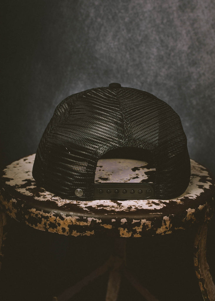 Iron & Resin Baker Snapback Hat