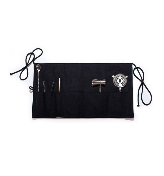 Izola Canvas Bar Apron & Stainless Steel Tools