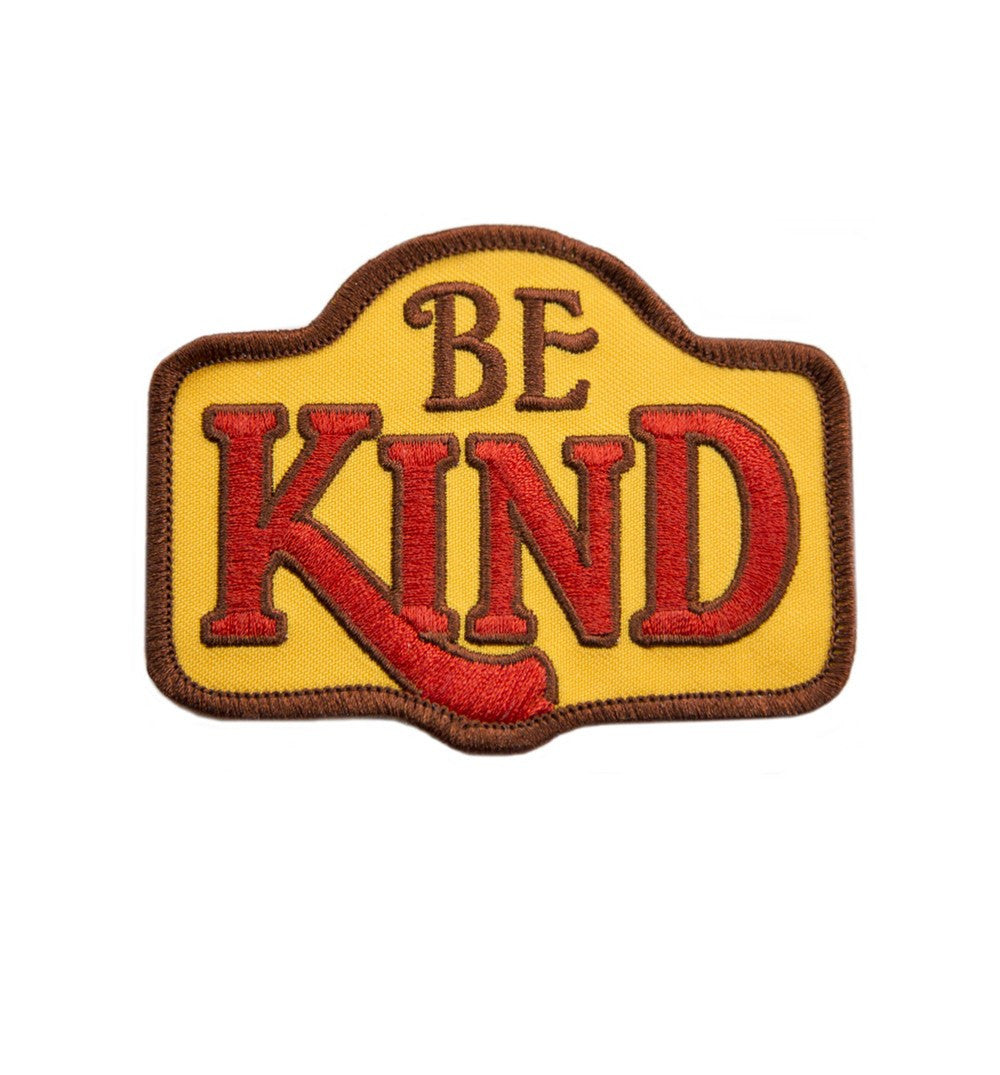 Kimberlin Co. Patch - Be Kind - Stickers/Pins/Patches - Iron and Resin