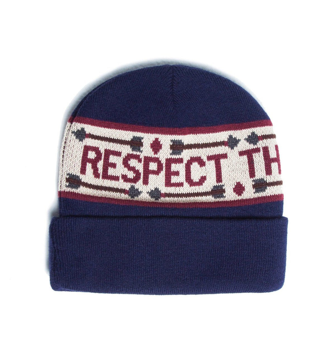 The Ampal Creative Respect the Natives Beanie - Headwear - Iron and Resin