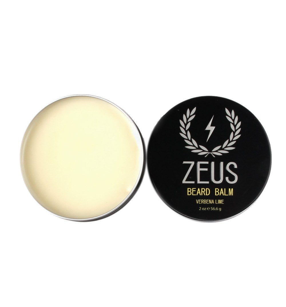 Zeus Beard Balm, Verbena Lime 2oz - Grooming - Iron and Resin