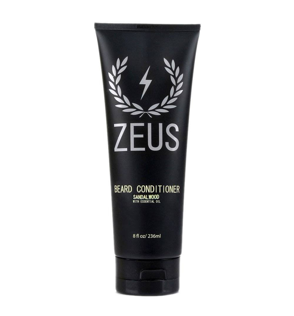Zeus Beard Conditioner, Sandalwood 8oz - Grooming - Iron and Resin