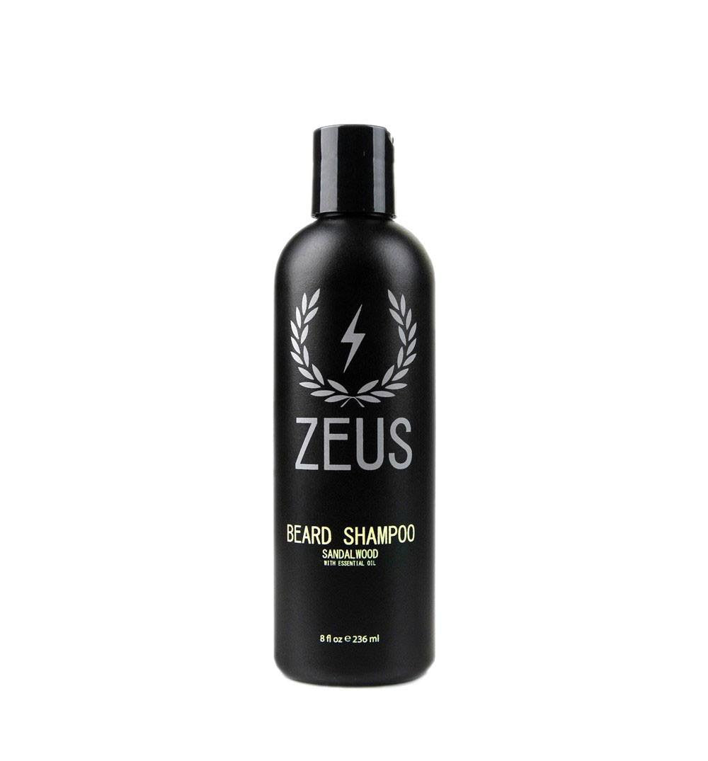 Zeus Beard Shampoo, Sandalwood 8oz - Grooming - Iron and Resin