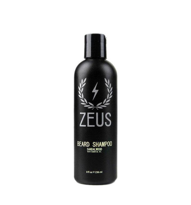 Zeus Beard Shampoo, Sandalwood 8oz - Grooming: Hair - Iron and Resin