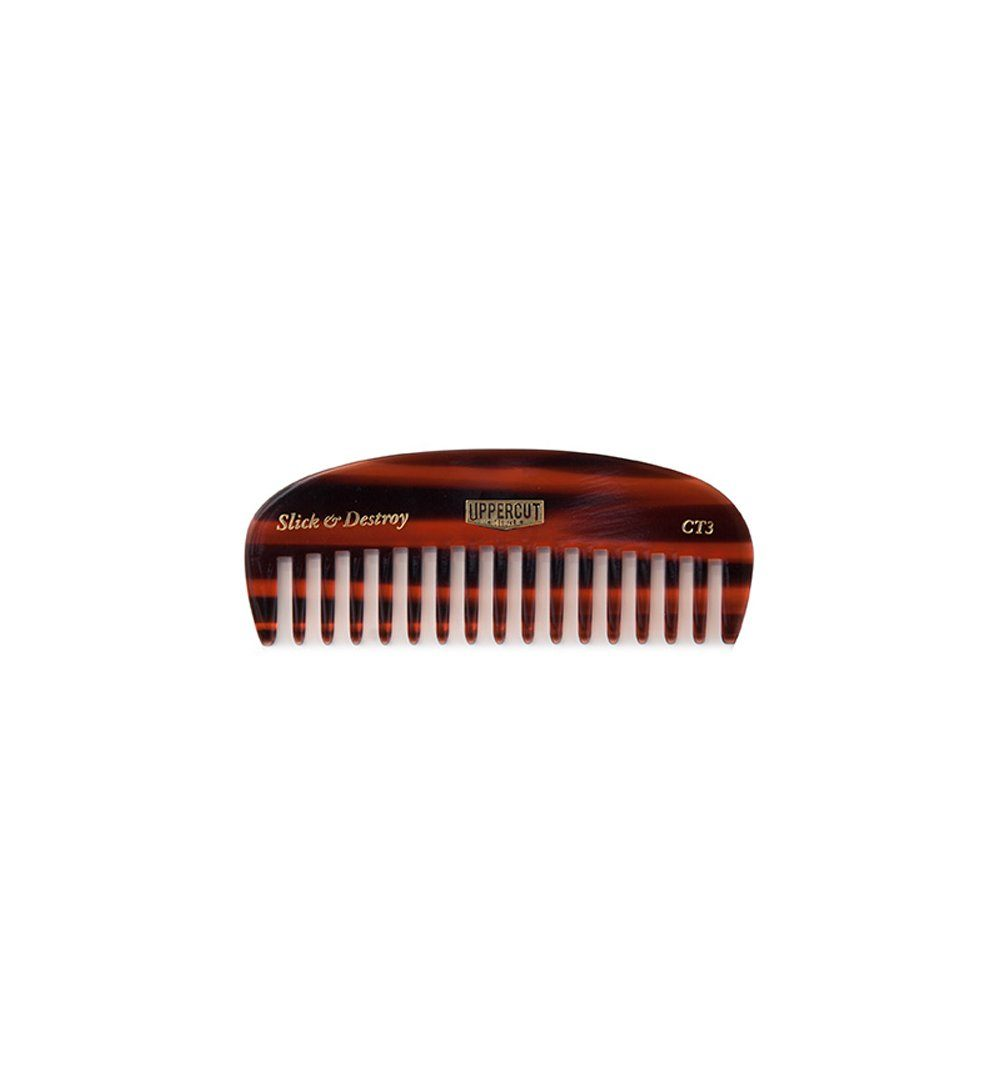 Uppercut Deluxe Beard Comb, Tortoise - Grooming - Iron and Resin