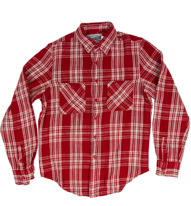 Schott Beefy l/s Flannel Woven Shirt - Apparel: Men's: Wovens - Iron and Resin