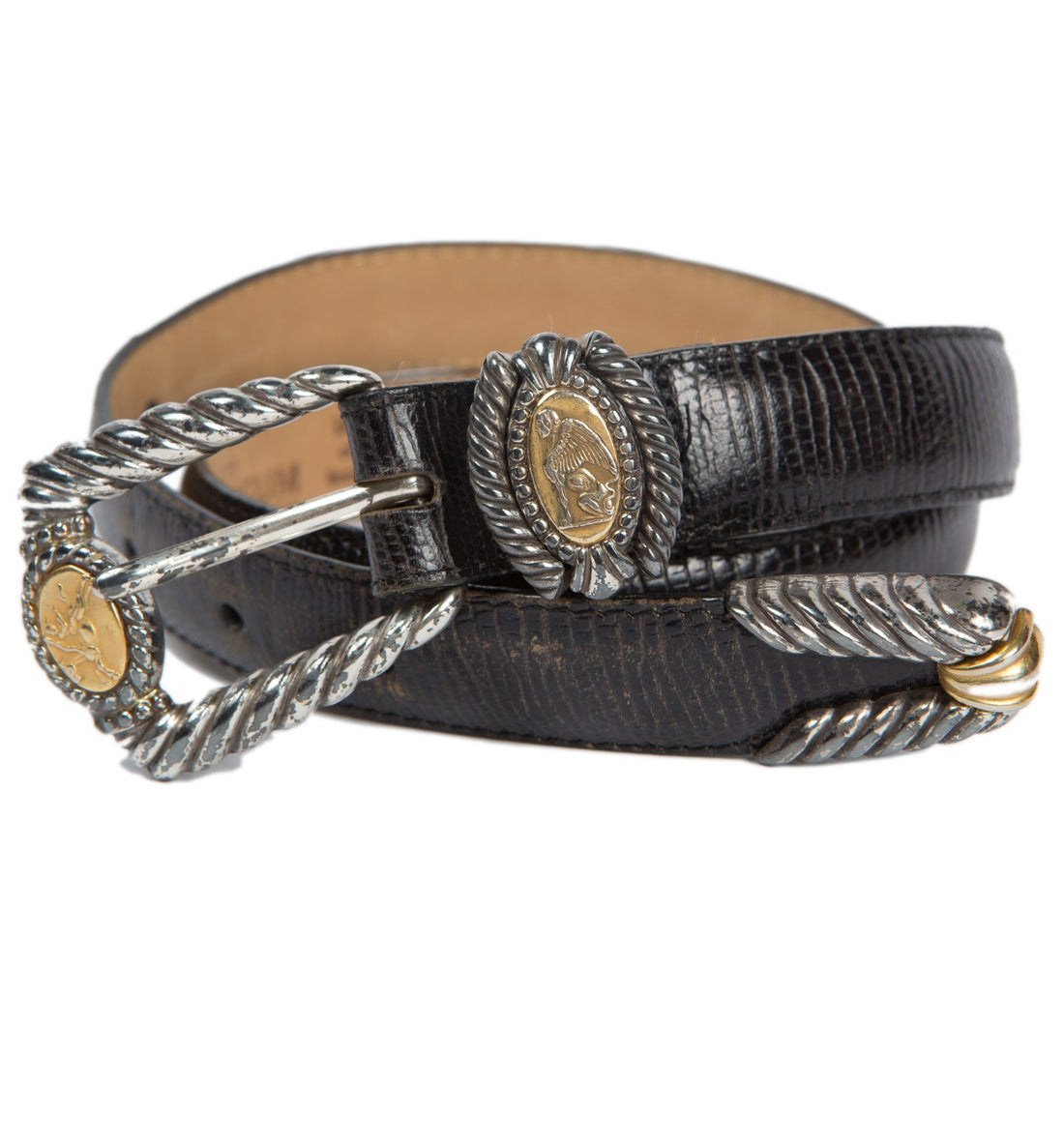 Vintage Brighton Museum Collection Belt - Vintage: Women's - Iron and Resin