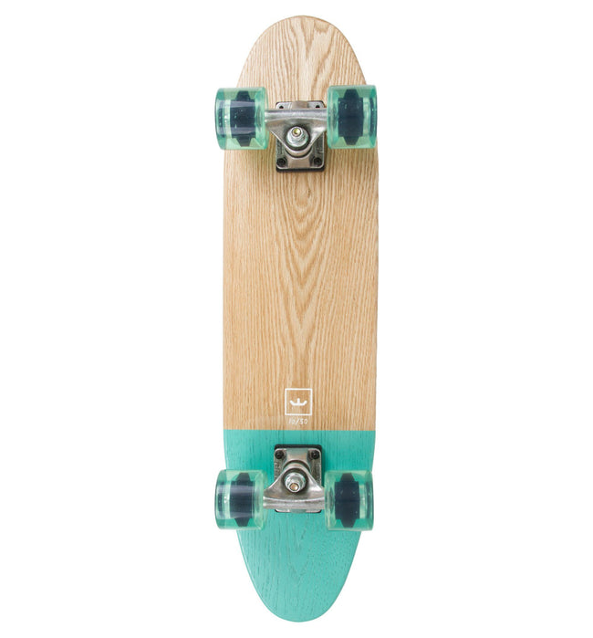 World Greatest Skateboard- Dipped- Teal - Skate - Iron and Resin