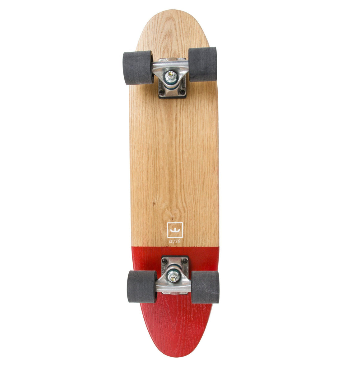 World's Greatest Skateboard- Dipped- Red - Skate - Iron and Resin