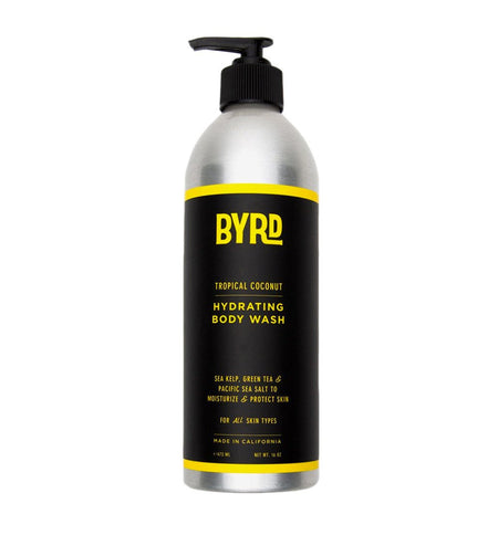 Byrd Body Wash 16oz - Grooming - Iron and Resin