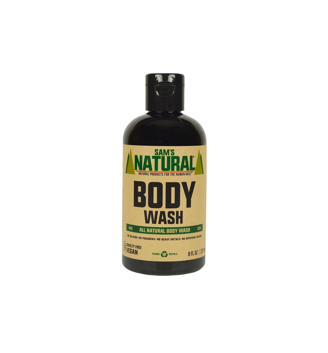 Sam's Natural Body Wash - Grooming - Iron and Resin