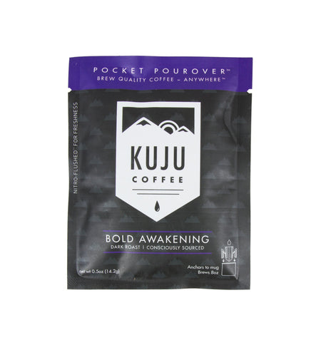 Kuju Coffee Pocket Pourover, Bold Awakening - Kitchen/Bar - Iron and Resin