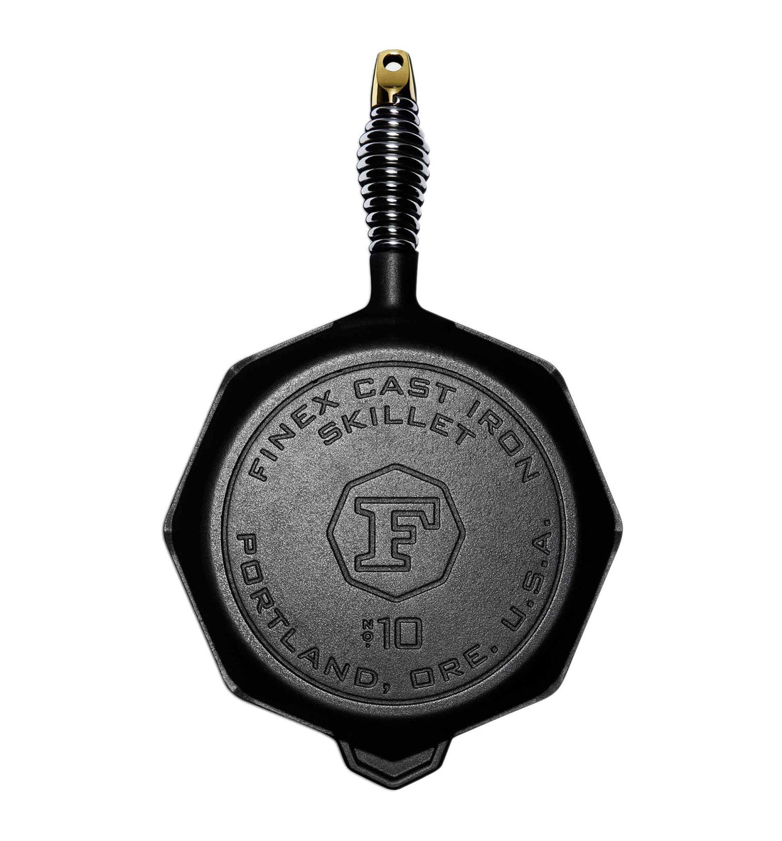 "Finex 10"" Cast Iron Skillet - Houseware - Iron and Resin"