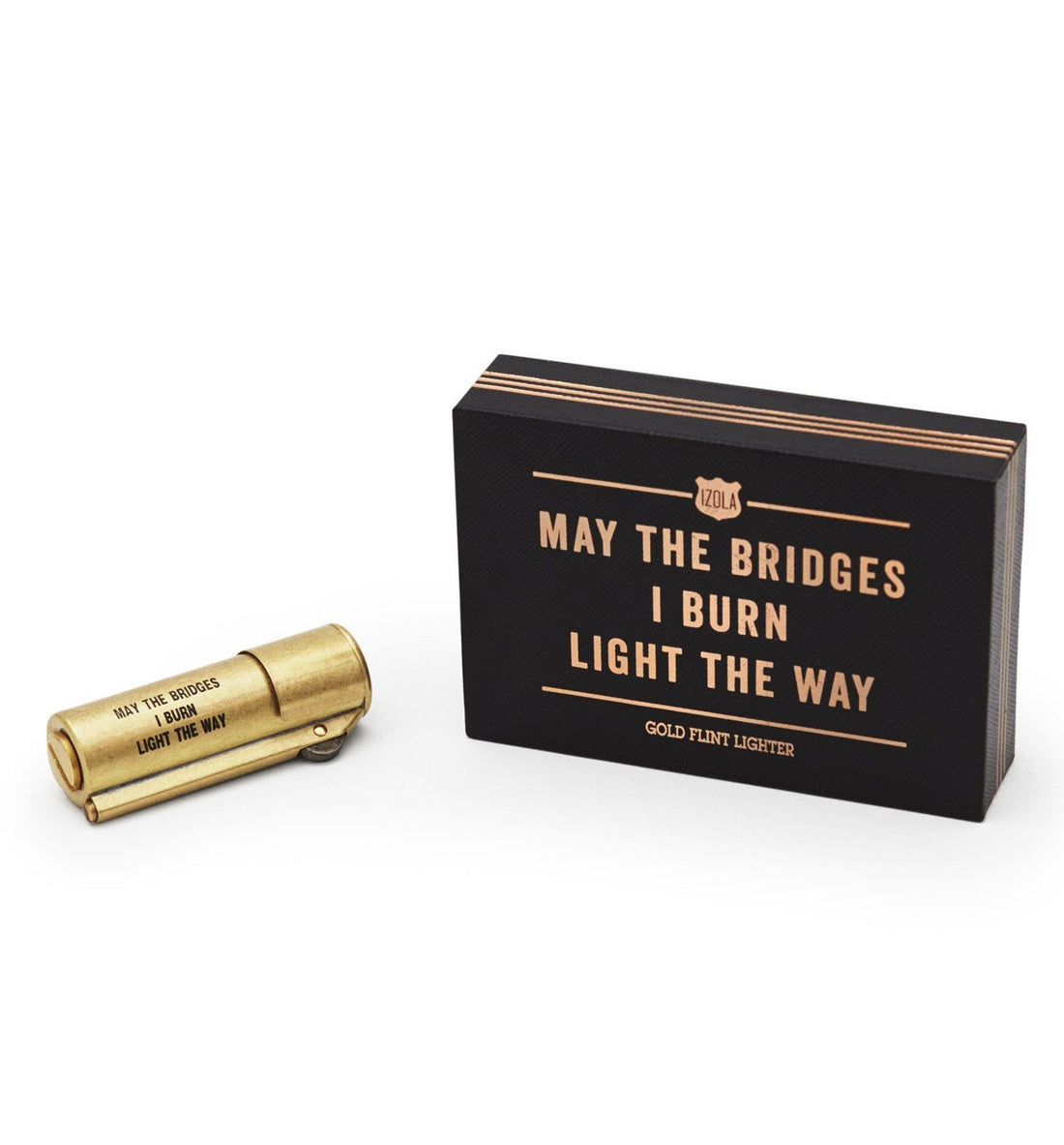 Izola Bridges Lighter Brass - Outdoor Living/Travel - Iron and Resin