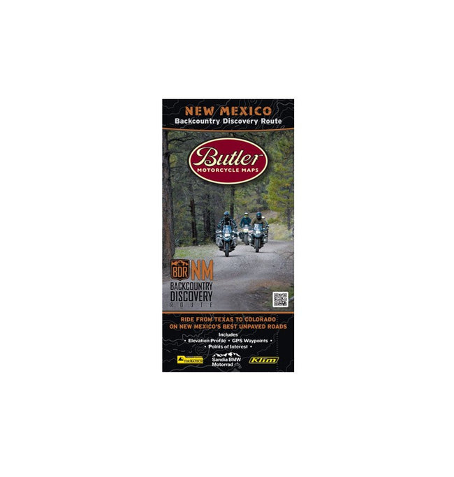 Butler Motorcycle Maps - Moto - Iron and Resin