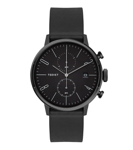 Tsovet Black/Black/Black - Accessories: Watches - Iron and Resin