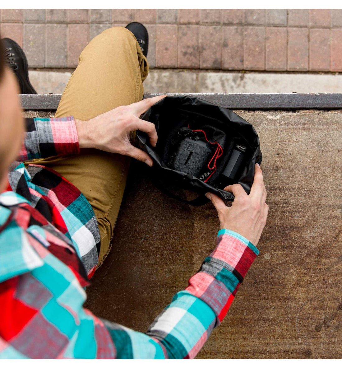 Topo Designs Camera Cube - Bags/Luggage - Iron and Resin