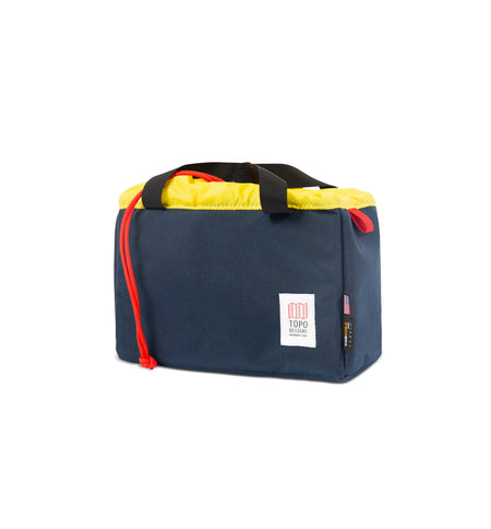 Topo Designs Camera Cube - Navy/Yellow - Bags/Luggage - Iron and Resin
