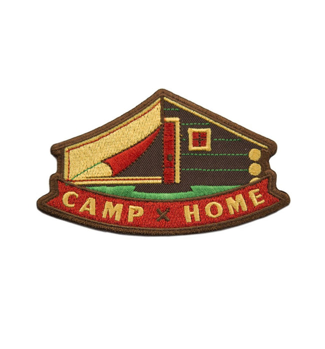 Kimberlin Co. Patch - Camp x Home - Accessories: Patches - Iron and Resin