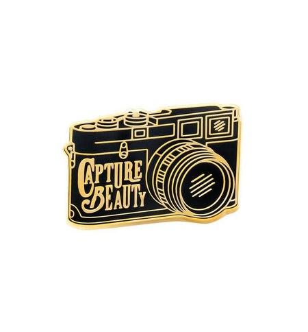 Asilda Capture Beauty Pin - Stickers/Pins/Patches - Iron and Resin