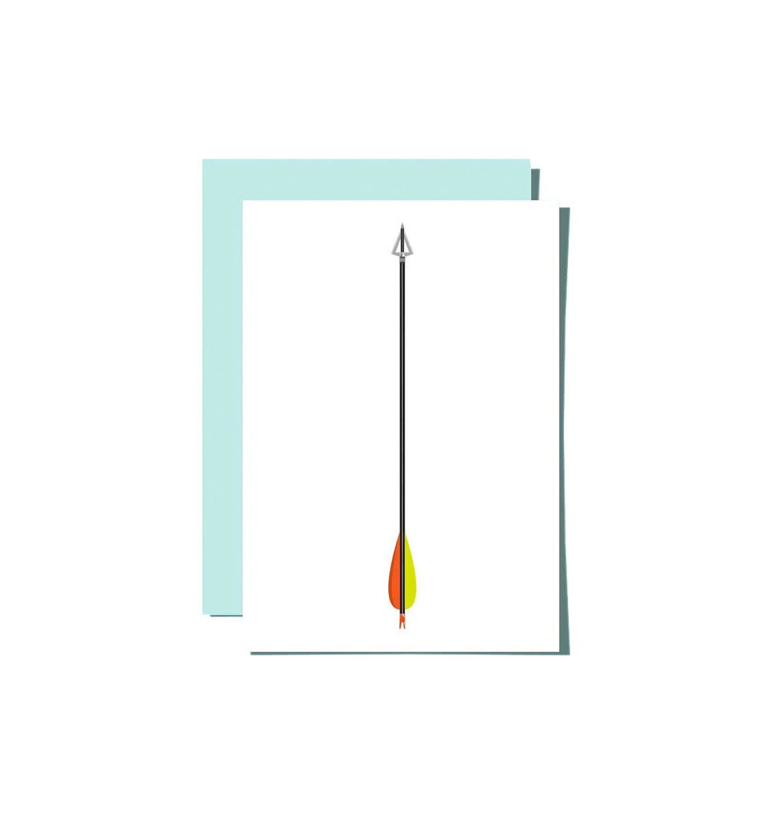 Roo Kee Roo - Arrow Card - Art/Prints - Iron and Resin