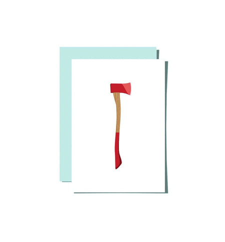 Roo Kee Roo - Axe Card - Art/Prints - Iron and Resin