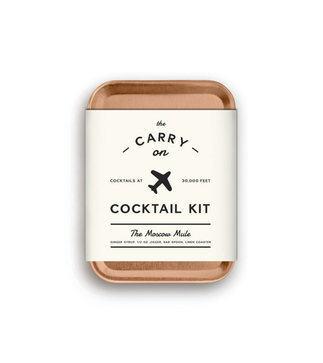 The Moscow Mule Carry On Cocktail Kit - Kitchenware - Iron and Resin