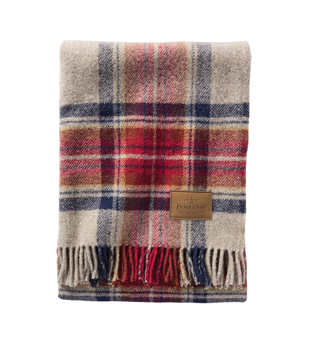 Pendleton Woolen Mills Carry Along Motor Robe Blanket - Vintage Dress Stewart - Outdoor Living/Travel - Iron and Resin