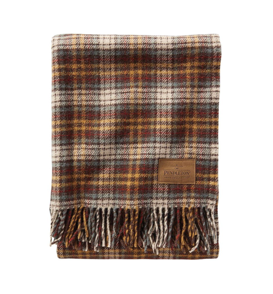 Pendleton Woolen Mills Carry Along Motor Robe Blanket - Whiskey Creek - Outdoor Living/Travel - Iron and Resin