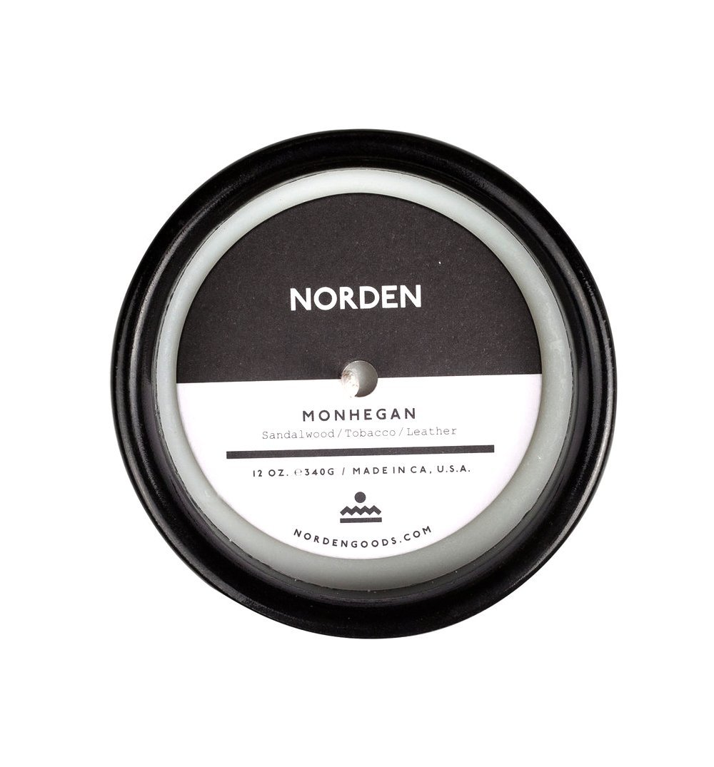 Norden Goods Monhegan 12oz. Candle - Home Essentials - Iron and Resin