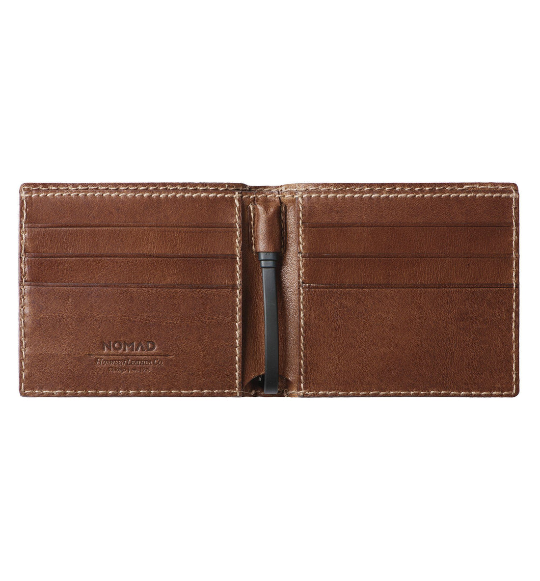 Nomad Battery Bi-Fold Wallet - Rustic Brown - Carry Essentials - Iron and Resin